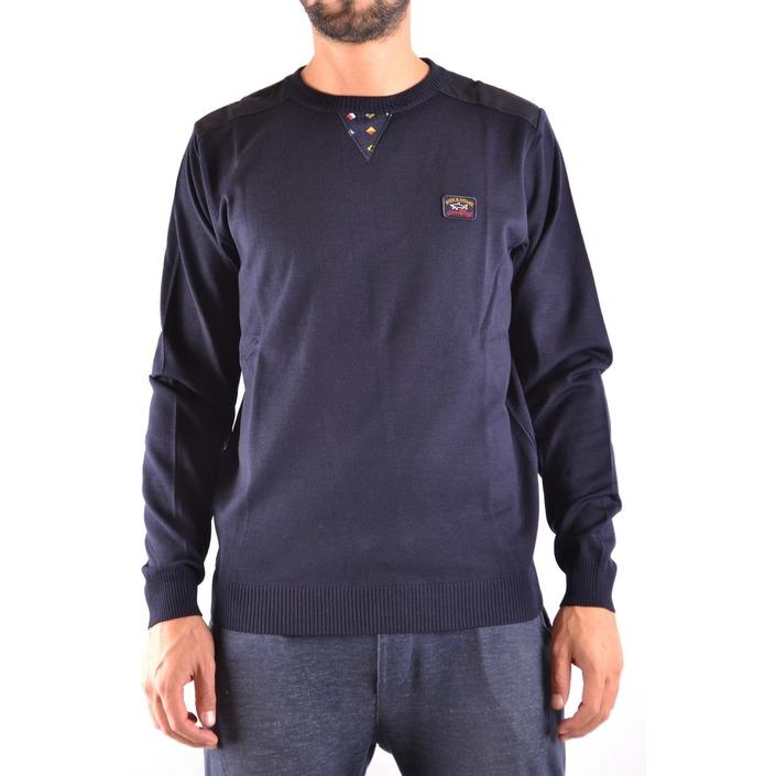 Paul&shark Men's Sweater Blue 161620 - blue L