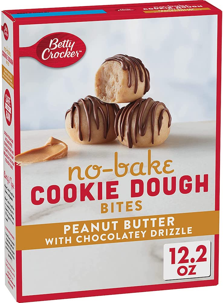 Betty Crocker No-Bake Cookie Dough Bites Peanut Butter 345g