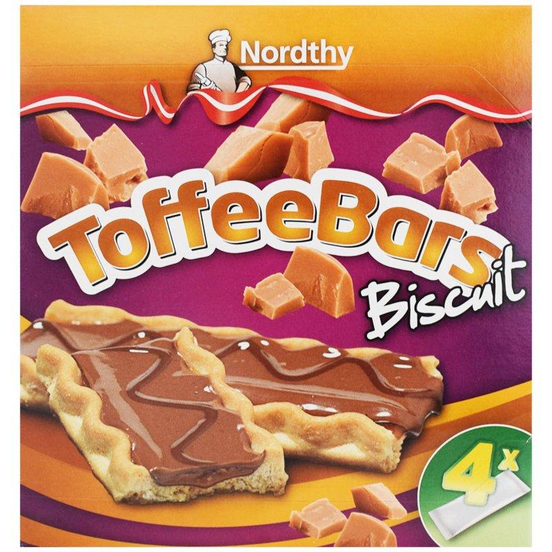 """Kex """"Toffee Bars"""" 4 x 25g - 63% rabatt"""