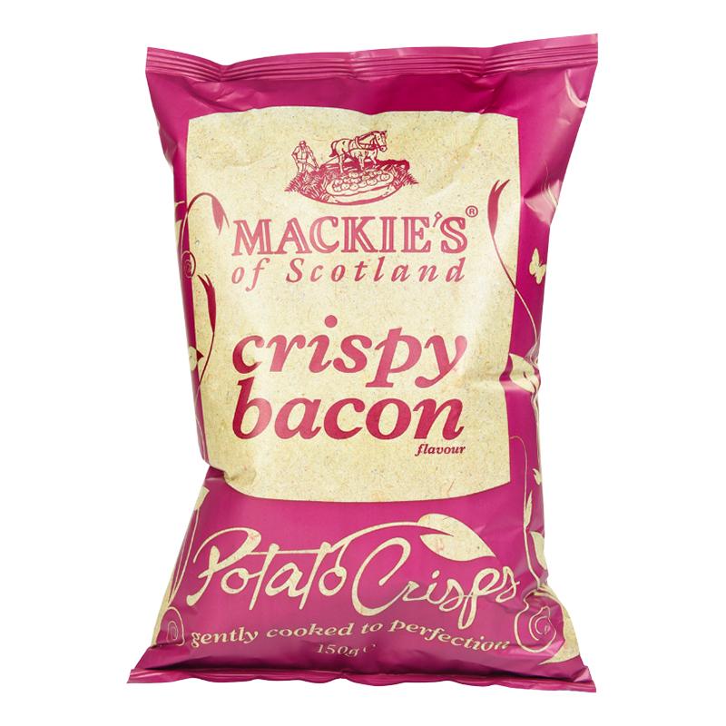 Mackie's Crispy Bacon Chips - 150 gram
