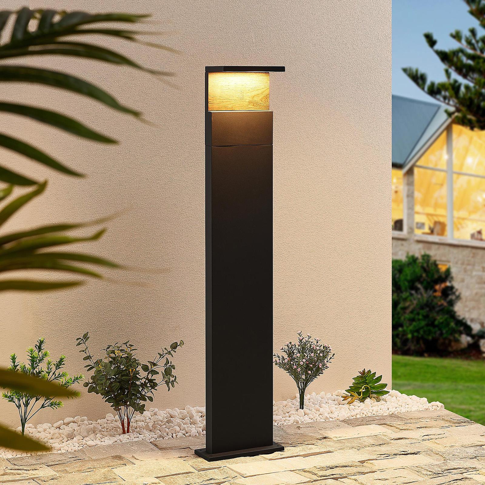 Lucande Lignus -LED-pylväsvalaisin