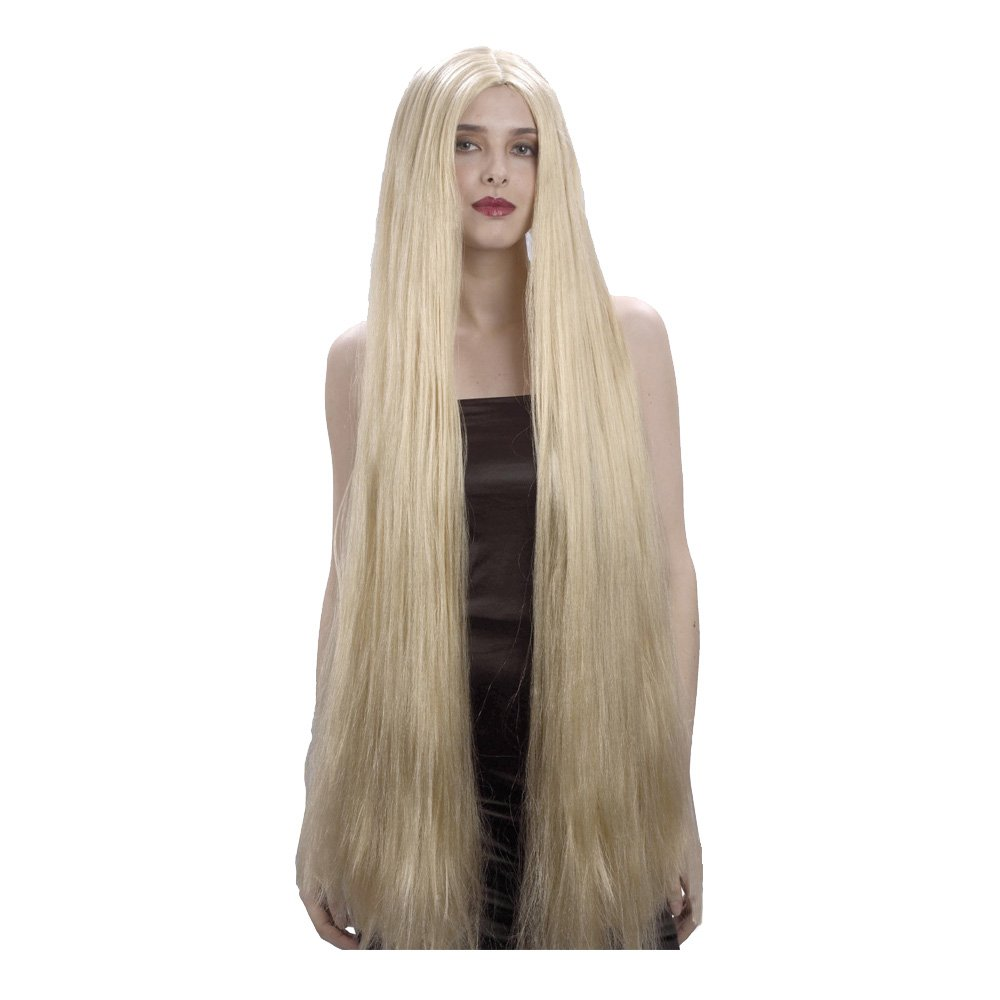 Blond Extra lång Peruk - One size