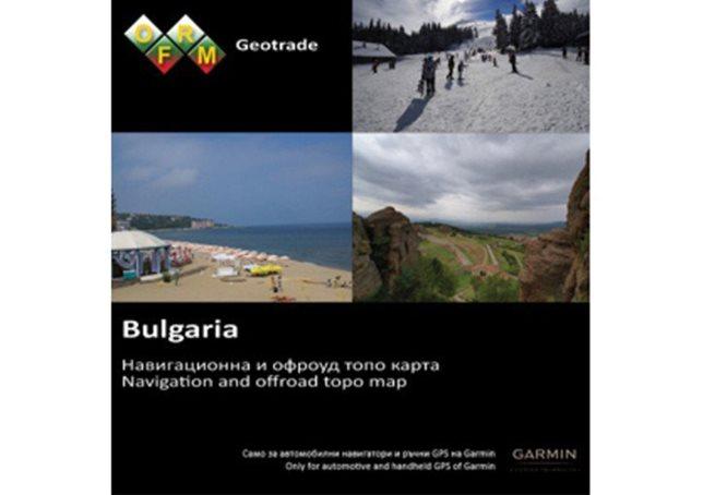 Garmin TOPO Bulgaria – OFRM Geotrade Garmin microSD™/SD™ card