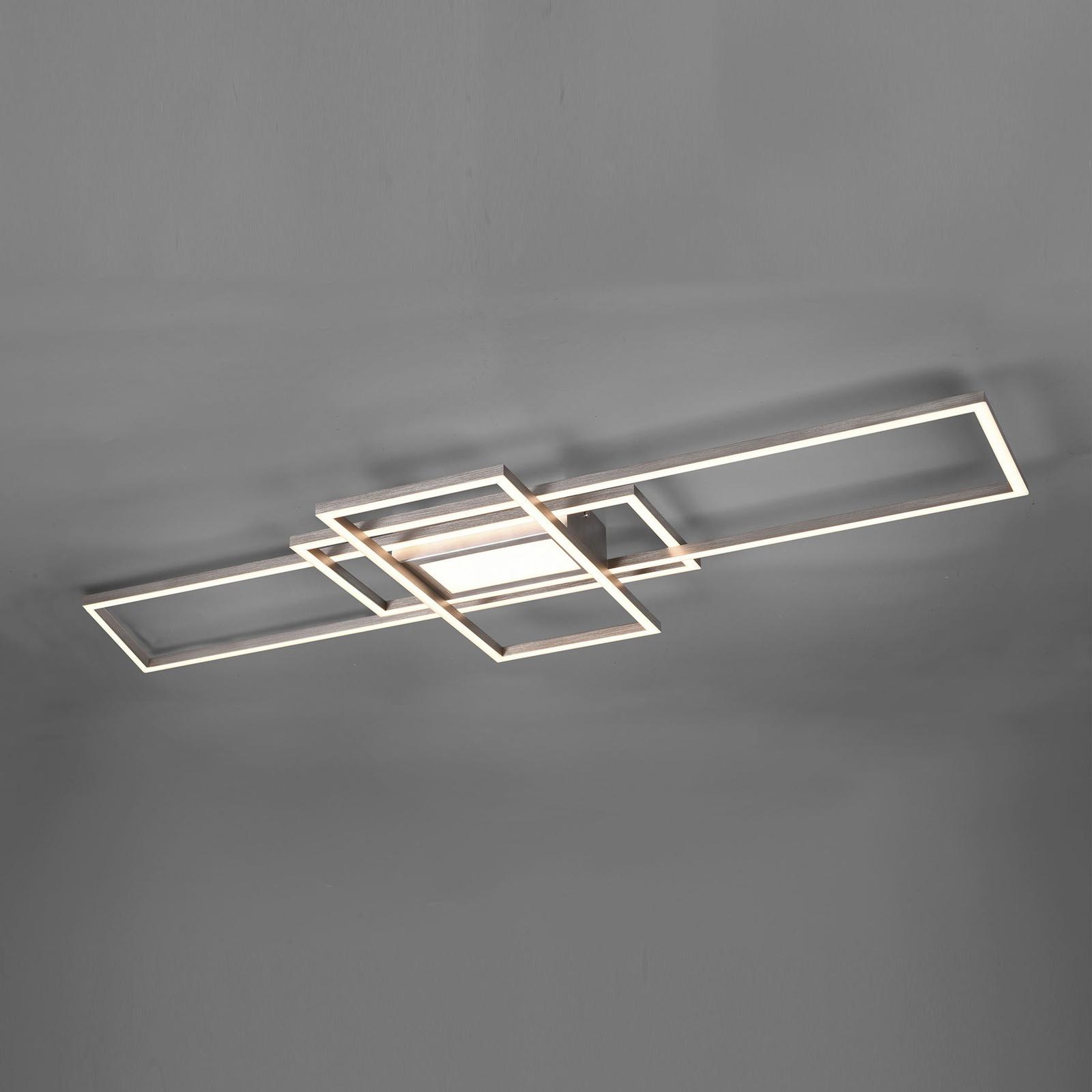 LED-kattovalaisin Irvine 3000 K - 6500 K nikkeli