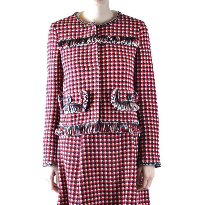 Boutique Moschino Women's Blazer Multicolor 166664 - multicolor 44