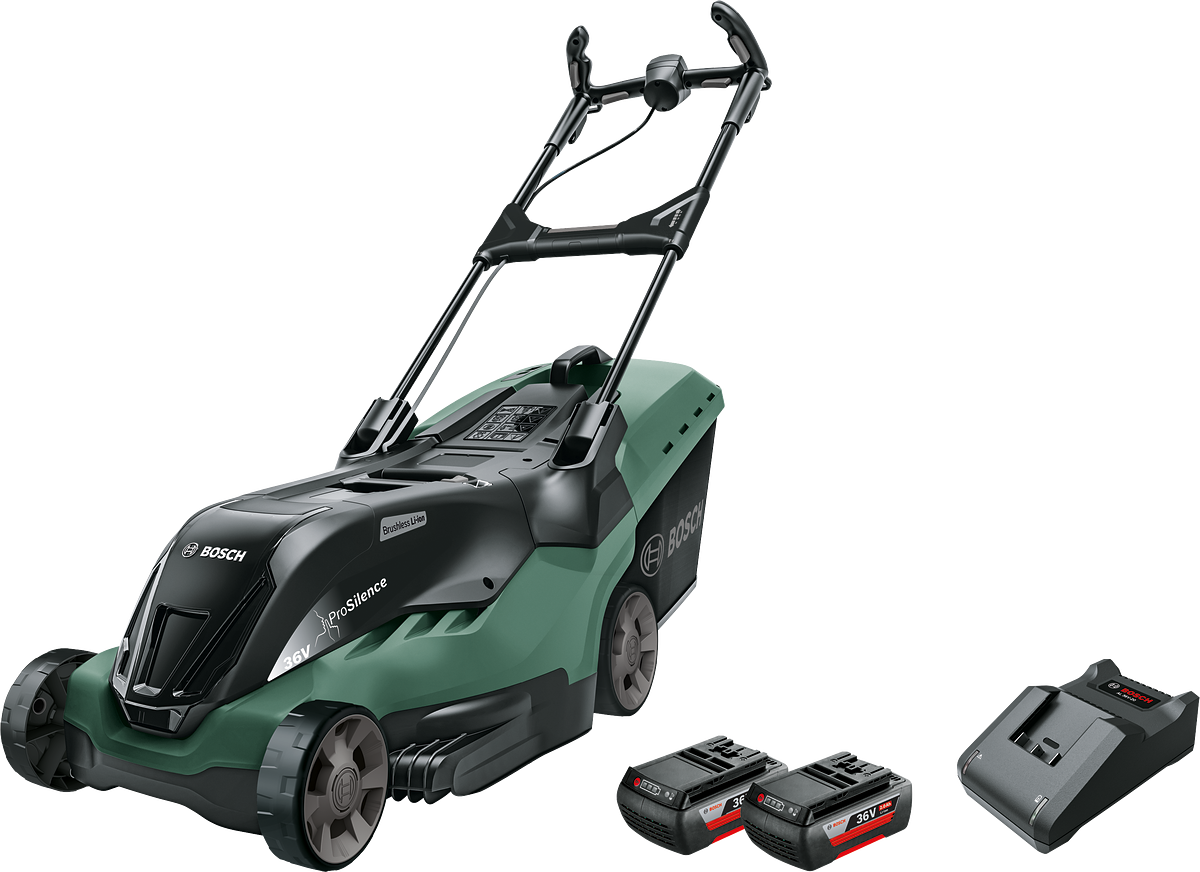 Bosch - Cordless lawnmower AdvancedRotak 36-660 (2x Battery and a charger is included)