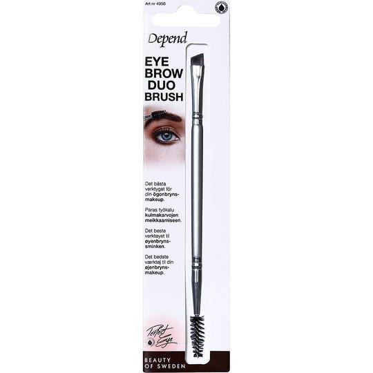 Depend Eyebrow Duo Brush, Depend Kulma- ja ripsisiveltimet