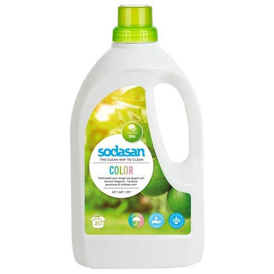 Sodasan Color Tvättmedel Lime, 1,5 L