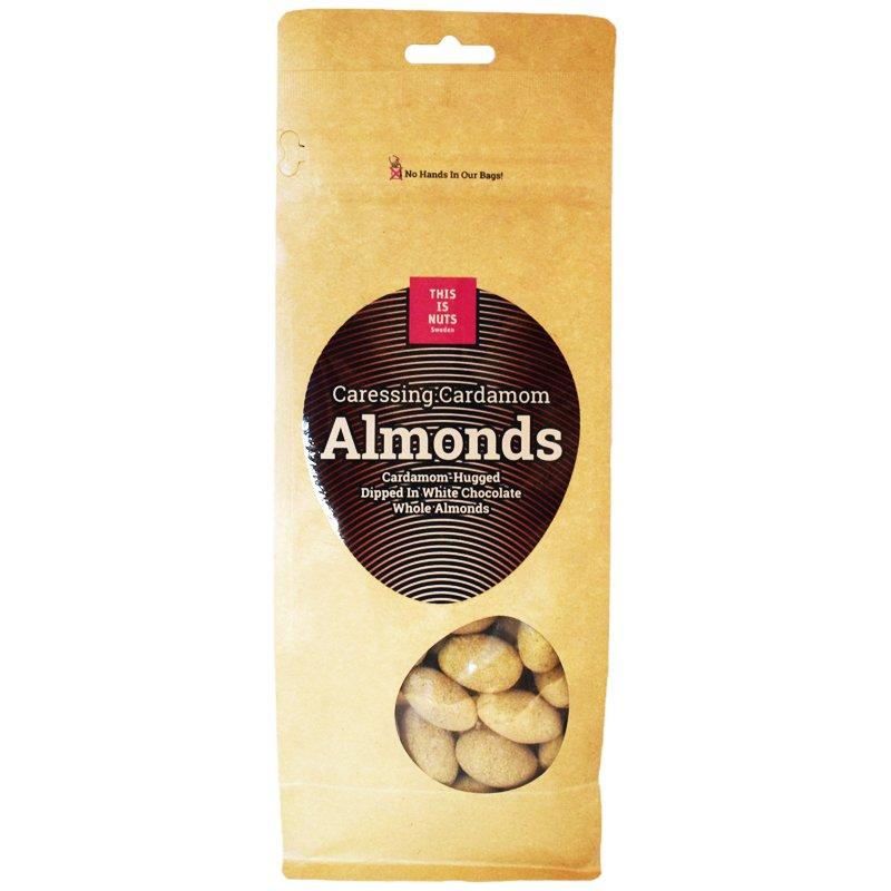 """Mandlar """"Vit choklad & kardemumma"""" 500g - 42% rabatt"""