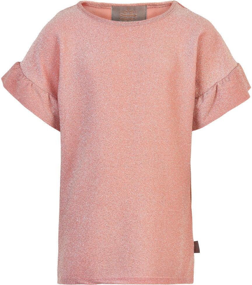 Creamie Glitter T-Shirt, Silver, 146