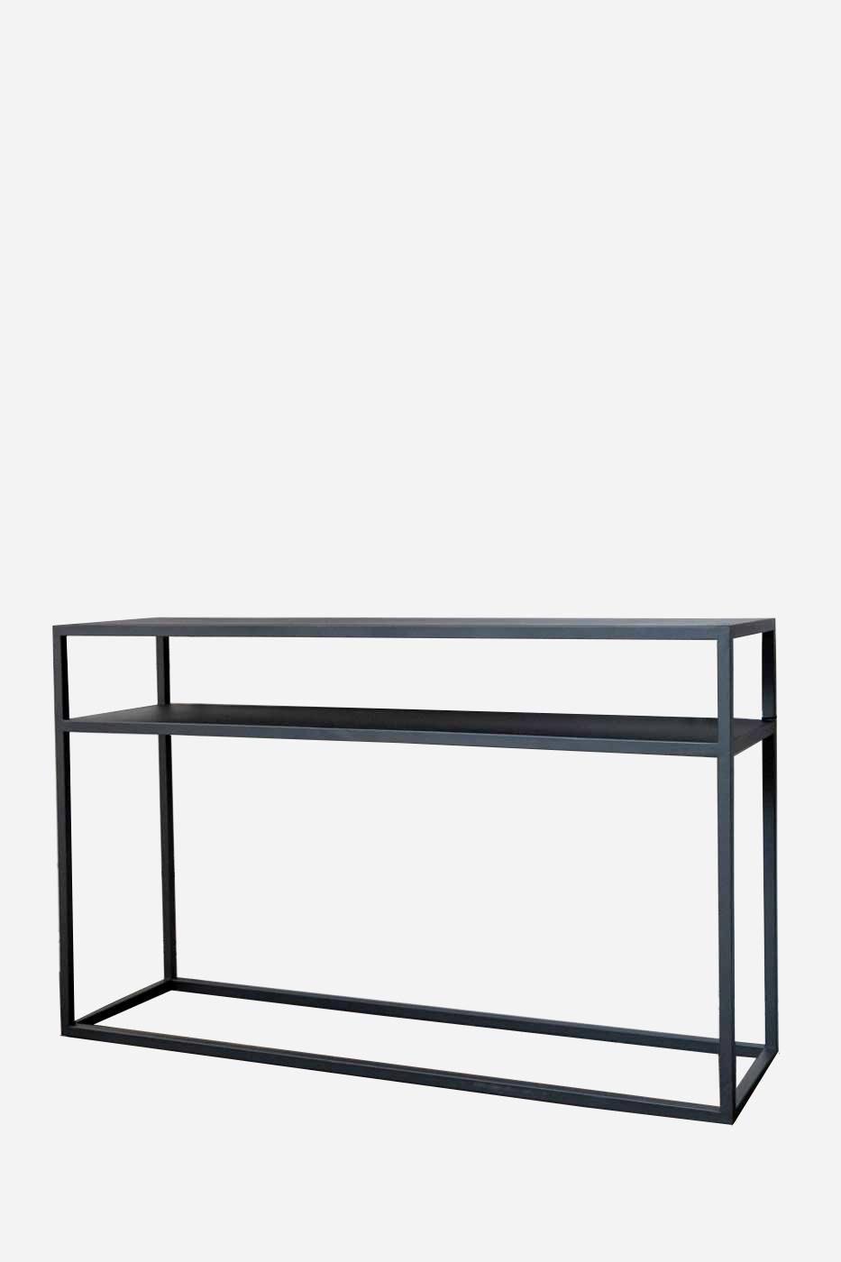 Avlastningsbord Lausanne 125 cm svart