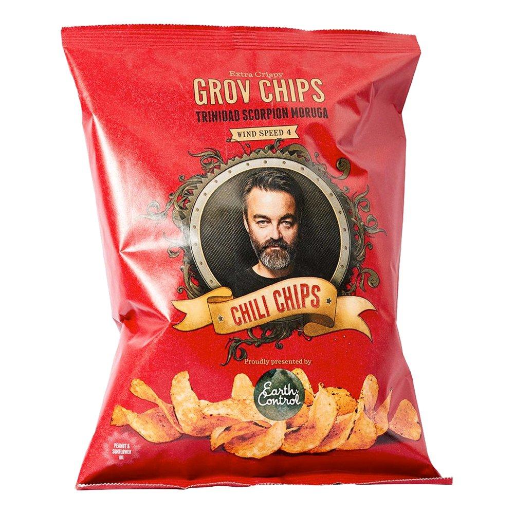Chili Klaus Chips - Vindstyrka 4