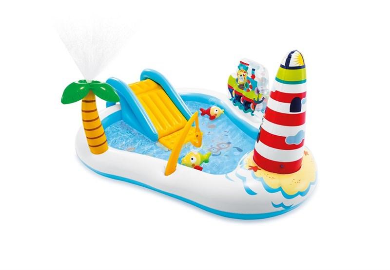INTEX - Fishing Fun Inflatable Play Center Pool (57162)