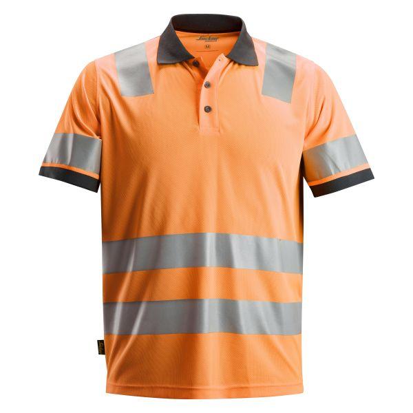 Snickers 2730 AllroundWork Pikéskjorte varsel, oransje XS