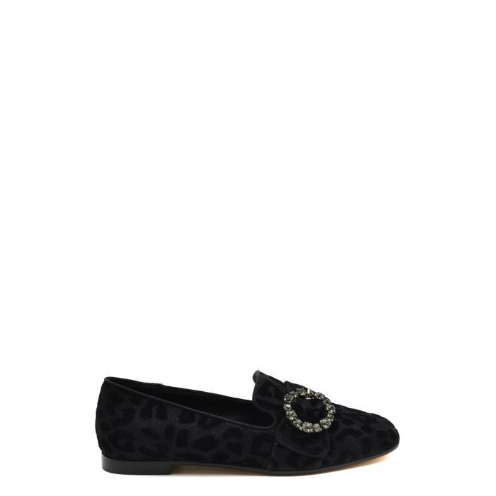 Dolce & Gabbana Women's Slip On Shoes Black 170304 - black 36