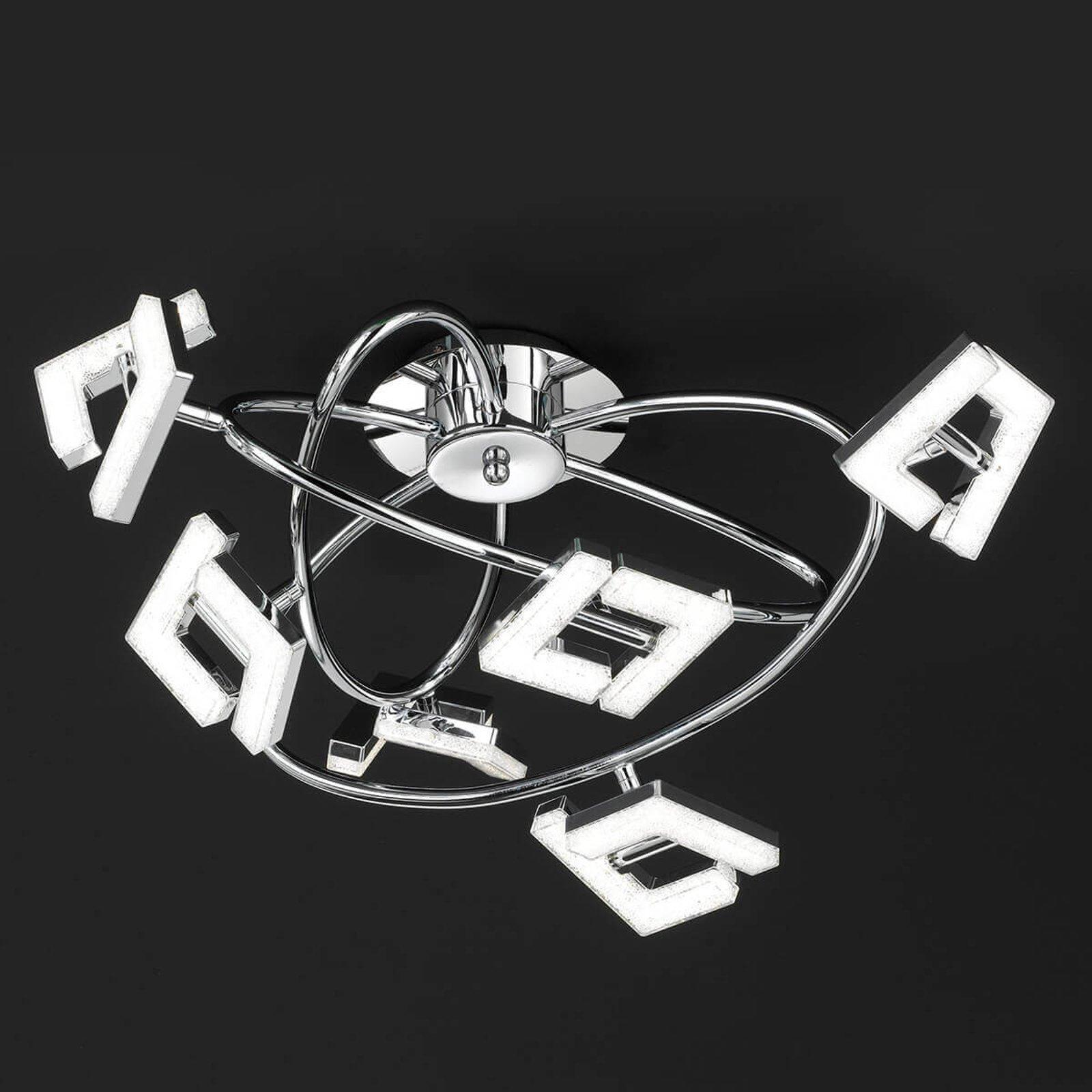 Topp moderne LED-taklampe Lea - 6 lyskilder