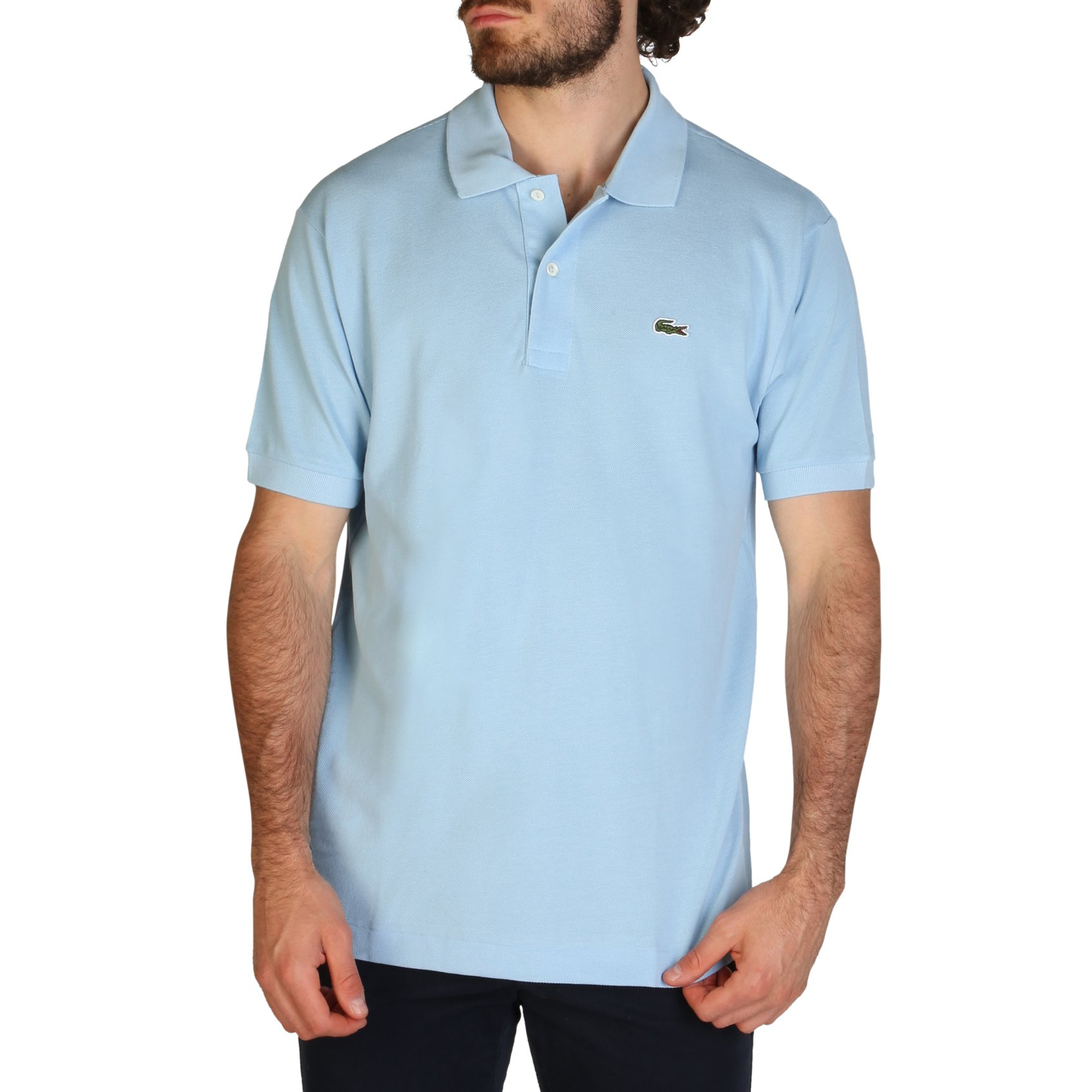 Lacoste Men's Polo Shirt Various Colours L1212_REGULAR - blue-3 S