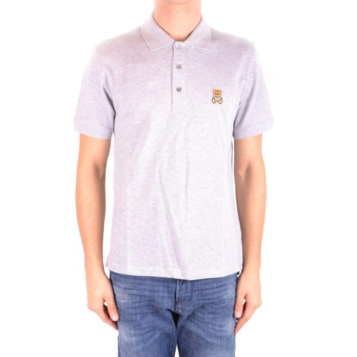 Moschino Men's Polo Shirt Grey 187177 - grey 52