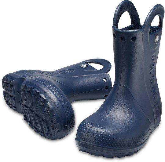 Crocs Handle It Regnstøvel, Navy 22-23