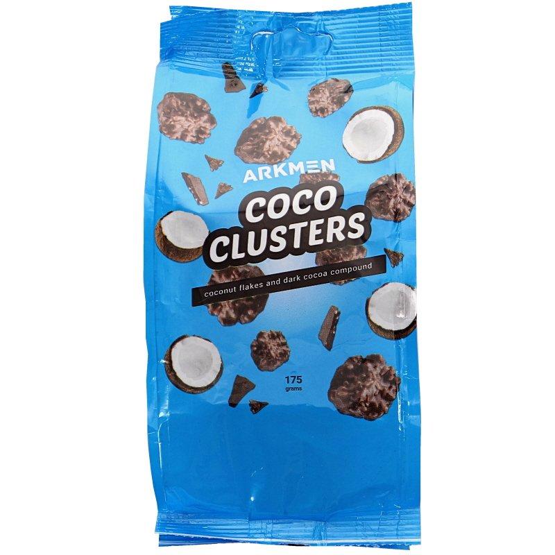 Coconut Clusters Mörk Choklad - 15% rabatt