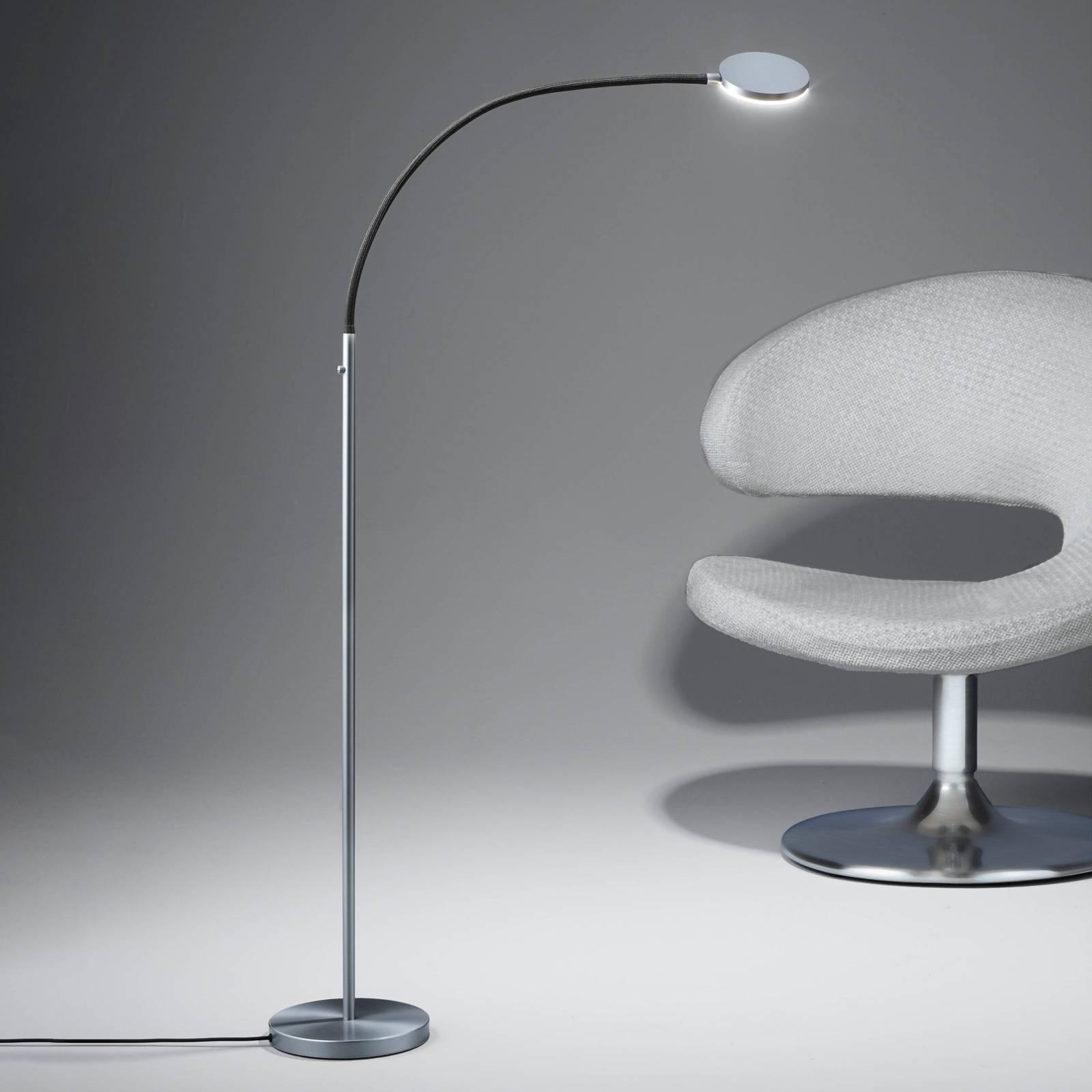 Holtkötter Flex S -LED-lattiavalaisin, musta