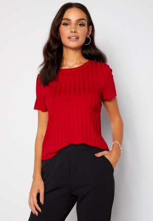 Happy Holly Mila cropped top Red 52/54