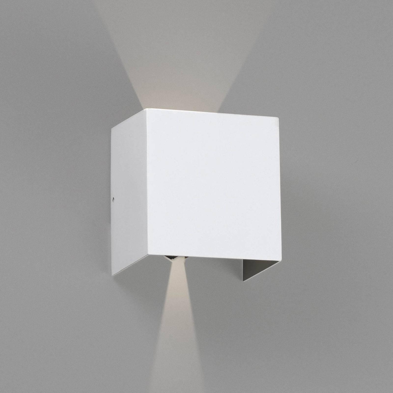 LED-ulkoseinälamppu Olan, valkoinen