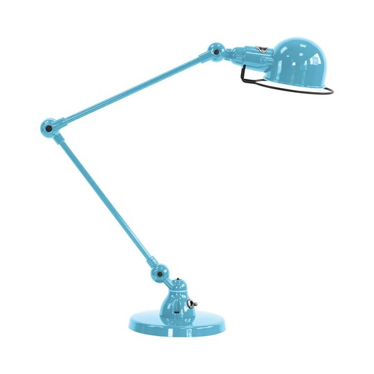Jieldé Signal SI333 bordlampe med fot, blå