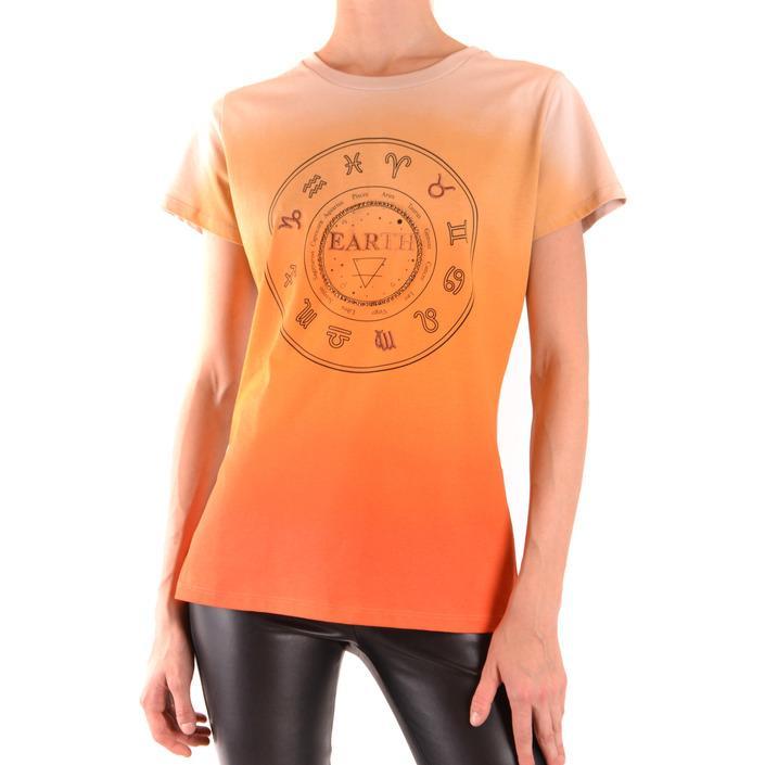Pinko Women's T-Shirt Orange 168873 - orange S