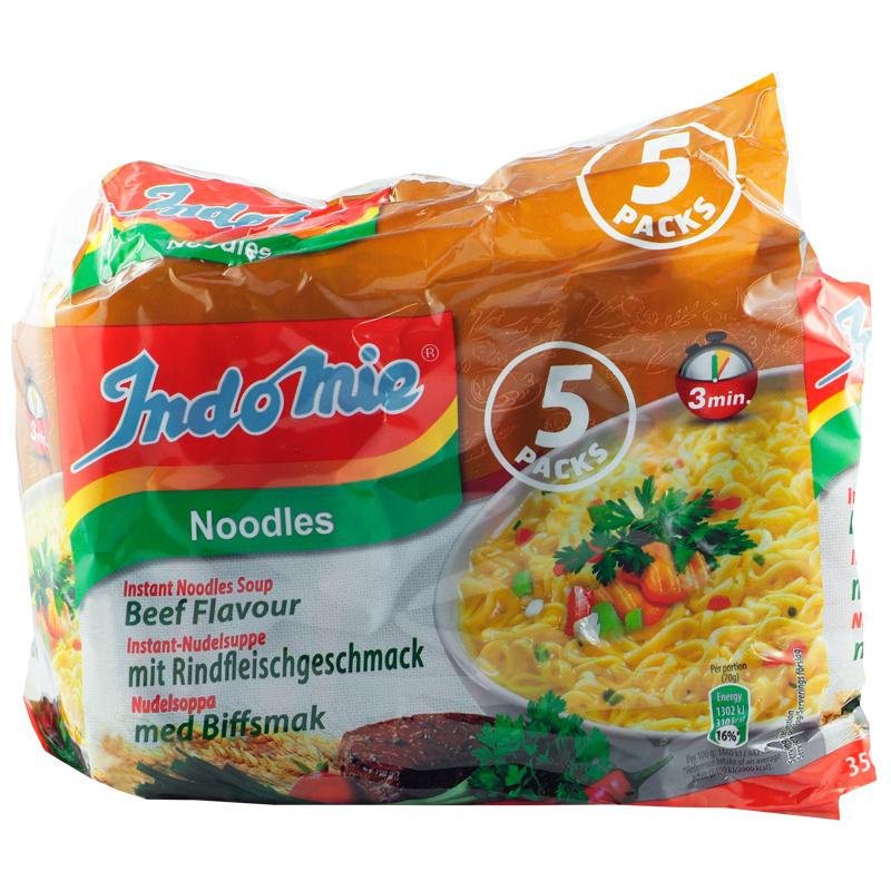 Nudlar Biff 5-pack - 16% rabatt