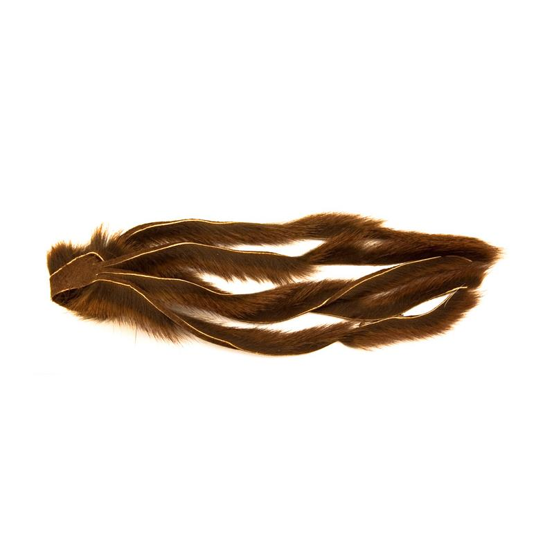 Pine Squirrel Zonker 2mm. - Brown The Fly Co