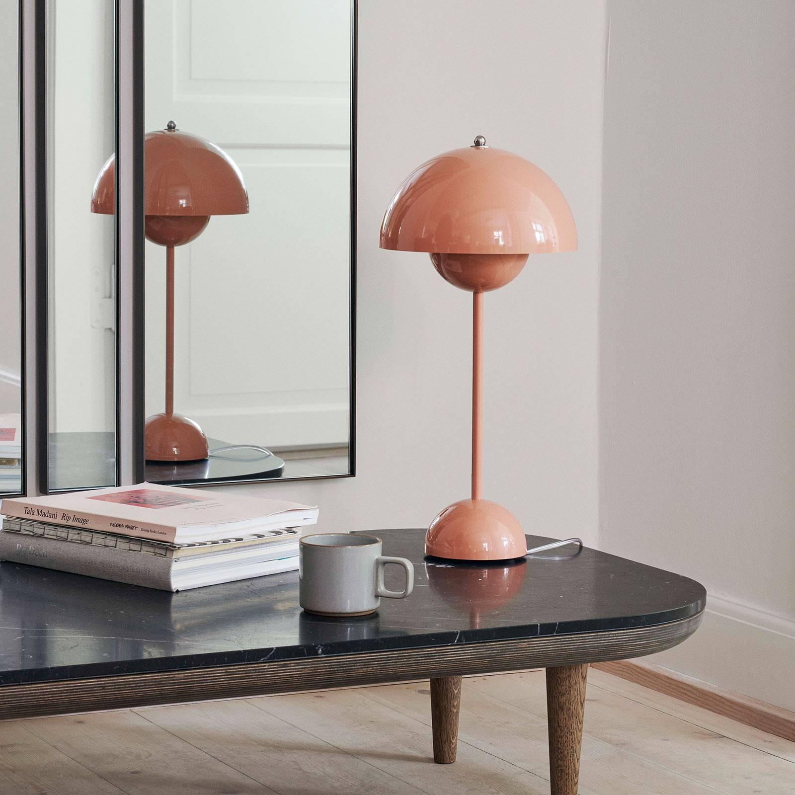 &Tradition Flowerpot VP3 pöytä vaaleanpunainen