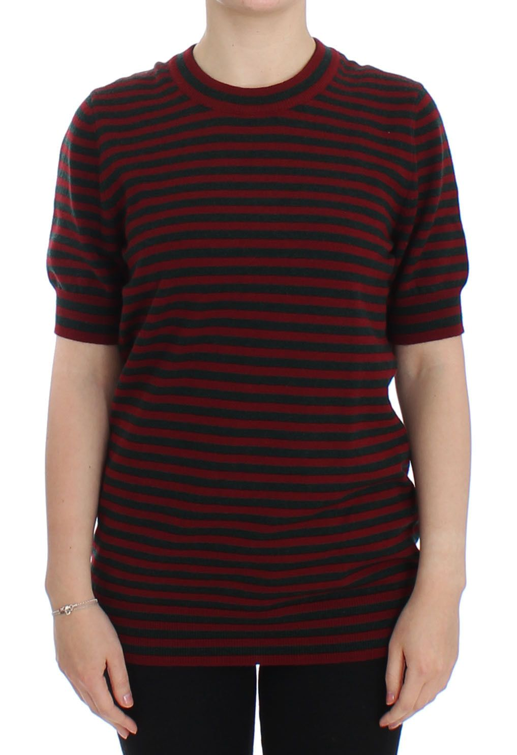 Dolce & Gabbana Women's Cashmere SS Sweater Red SIG13354 - IT36 | S