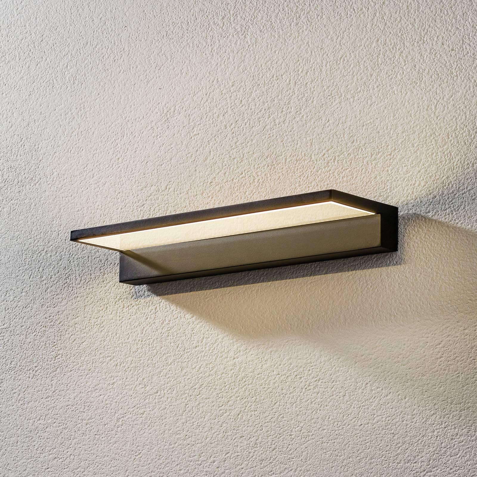 serien.lighting Crib Wall LED-seinävalaisin, musta