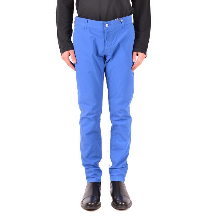 Daniele Alessandrini Women's Trouser Blue 167510 - blue 33