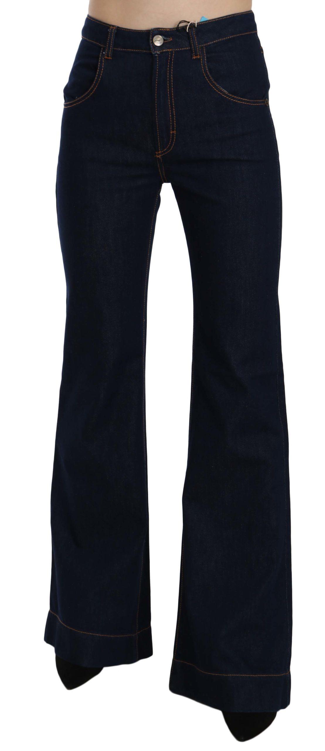 Just Cavalli Women's High Waist Boot Cut Denim Trouser Blue PAN70360 - W26