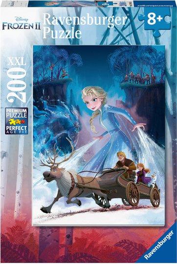 Ravensburger Disney Frozen Puslespill, 200 Brikker