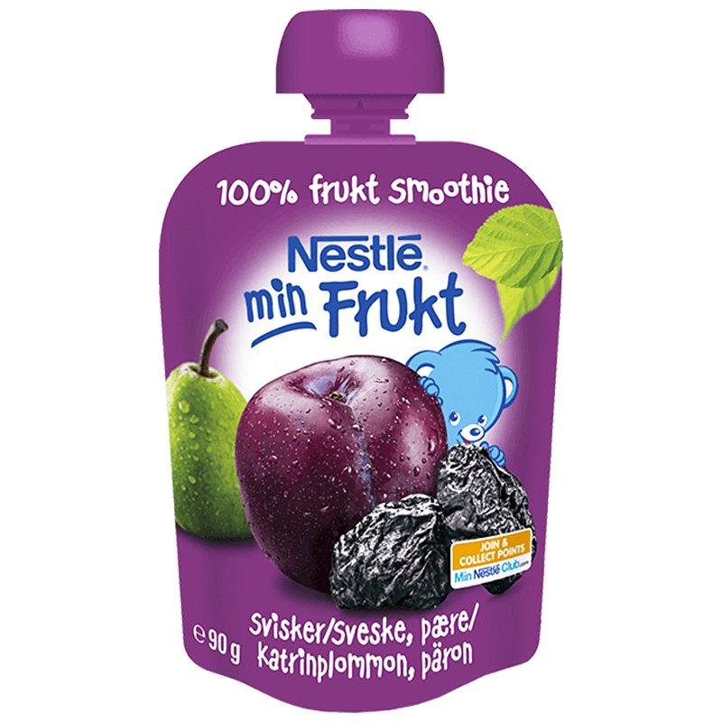 Barnmat Fruktsmoothie Katrinplommon & Päron 90g - 36% rabatt