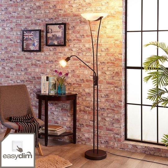 Dimbar, rustfarget LED-uplight Felicia