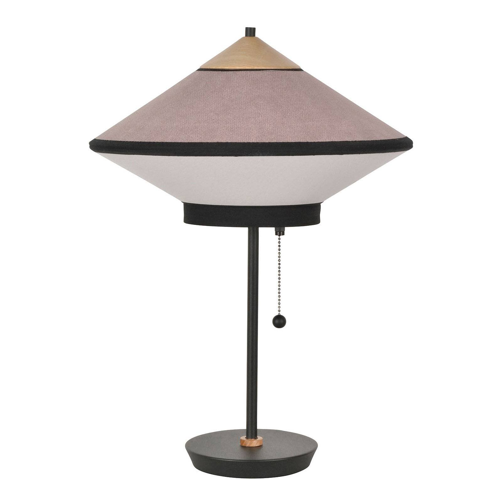 Forestier Cymbal S bordlampe, pudderrosa