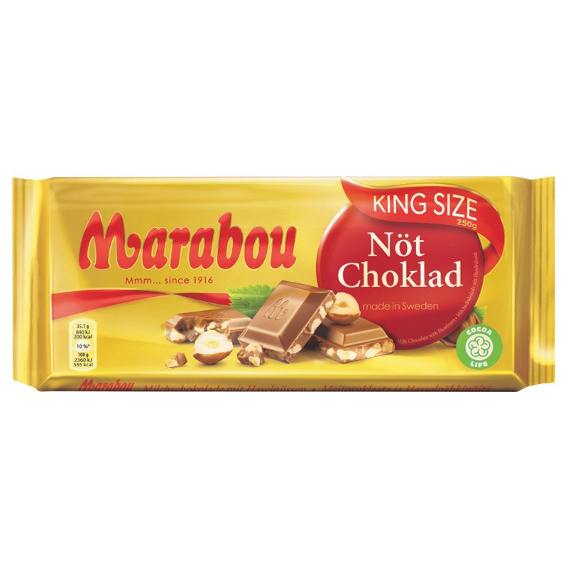 Mjölkchoklad Nöt - 32% rabatt