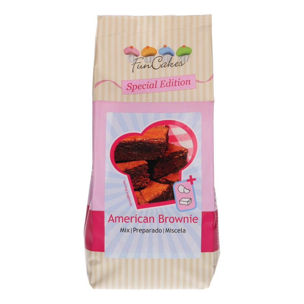 FunCakes Special Edition Mix For American Brownie - 500g