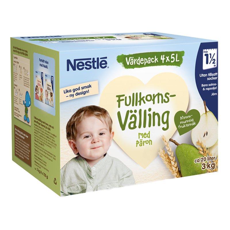 Barnmat Fullkornsvälling Päron - 23% rabatt
