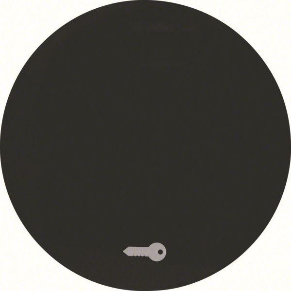"""Hager 16202015 Vipu malleihin R.1 ja R.3, musta Yksiosainen vipu, symboli """"avain/ovi"""""""