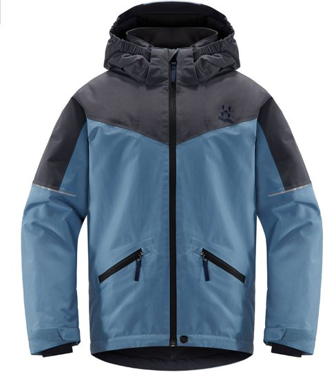 Haglöfs Niva Skijakke, Silver Blue/Dense Blue 134