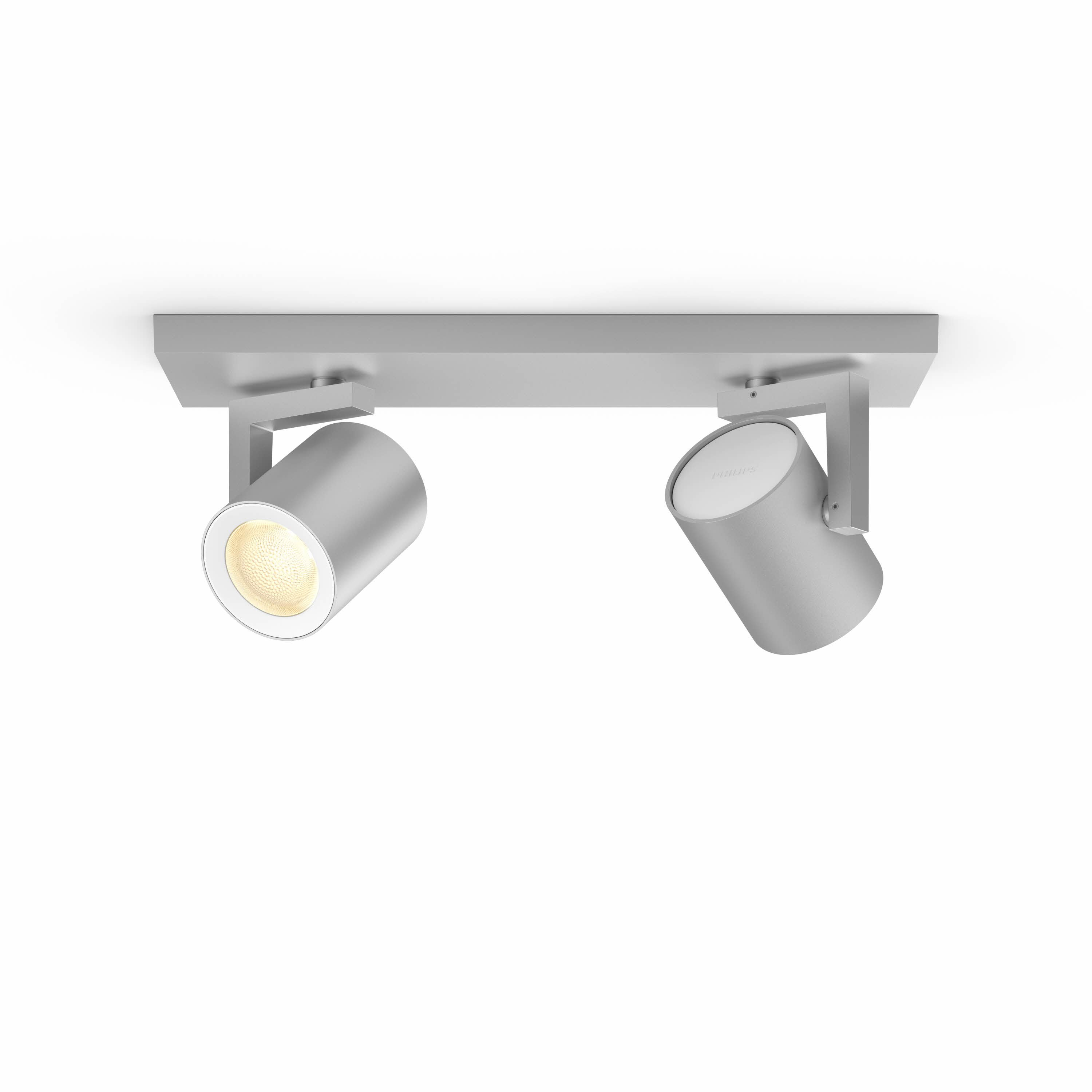 Philips Hue - Argenta plate/spiral -White and Color Ambiance
