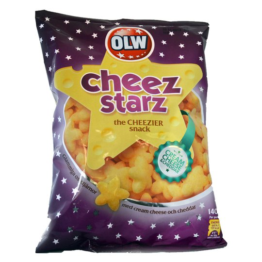 OLW Cheez Starz - 21% rabatt