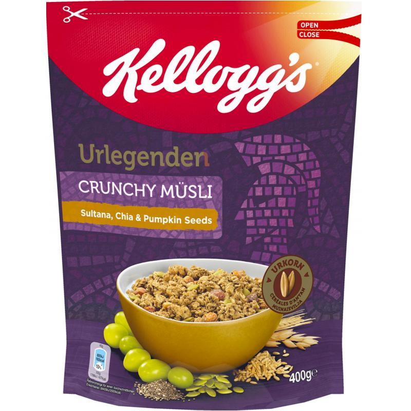 "Müsli ""Sultana, Chia & Pumpkin Seeds"" 400g - 57% rabatt"