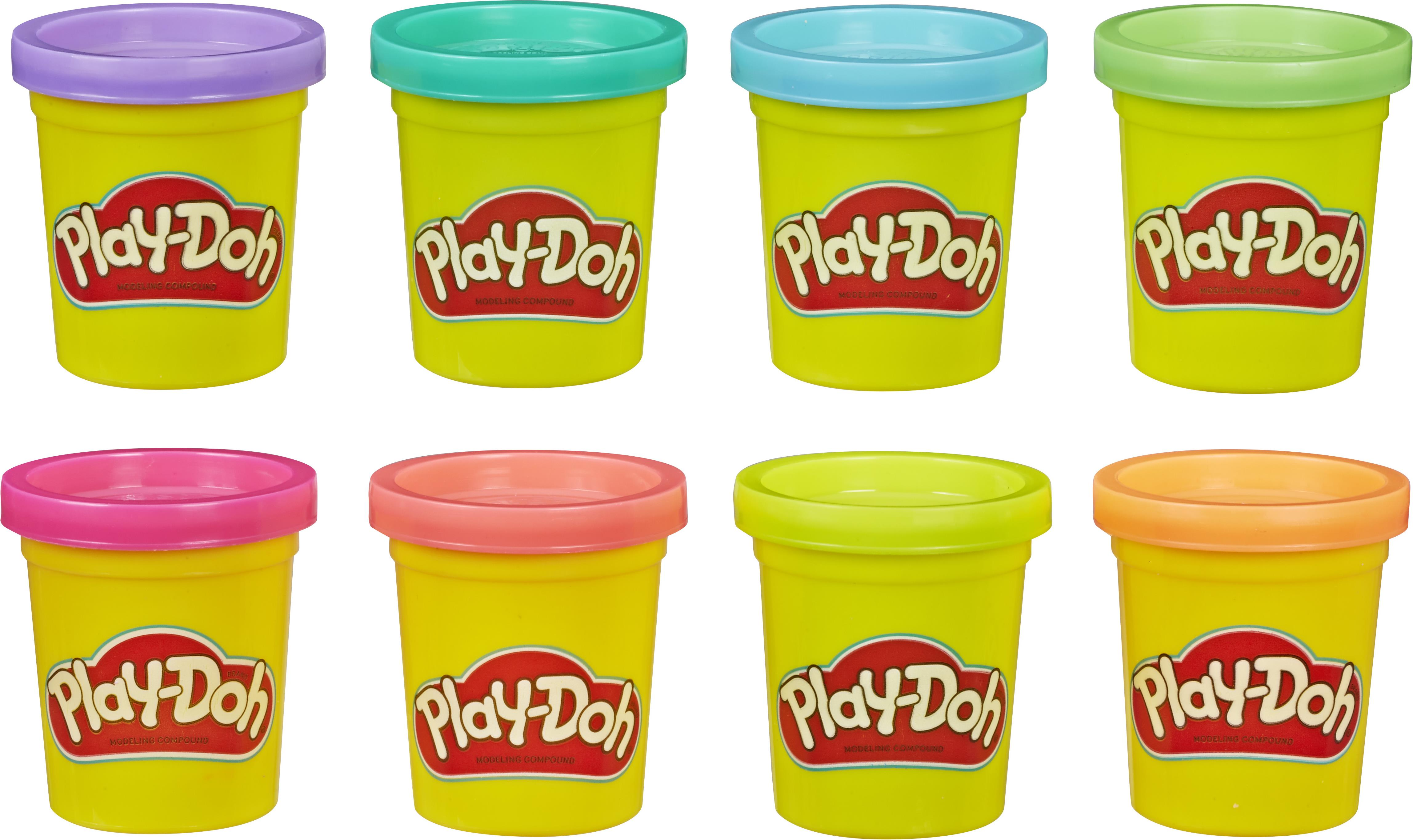 Play-Doh - 8 Pack - Neon (E5063)