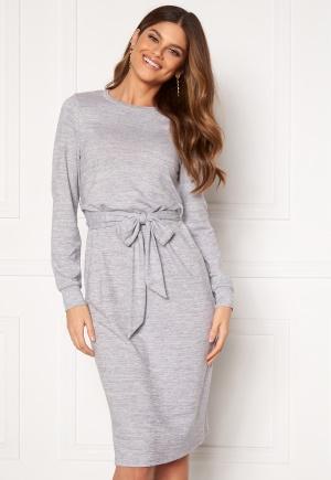 Happy Holly Beatrix midi dress Grey melange 40/42